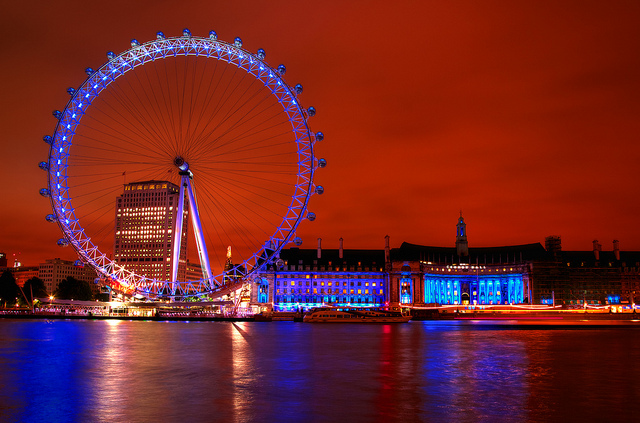 The London Eye - Foto: edwademd